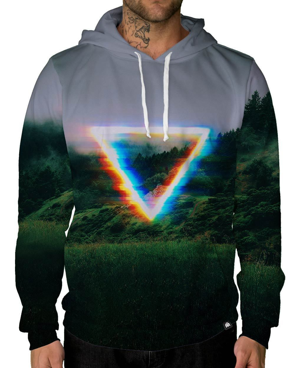Analog Fields Pullover Hoodie-Male-Front