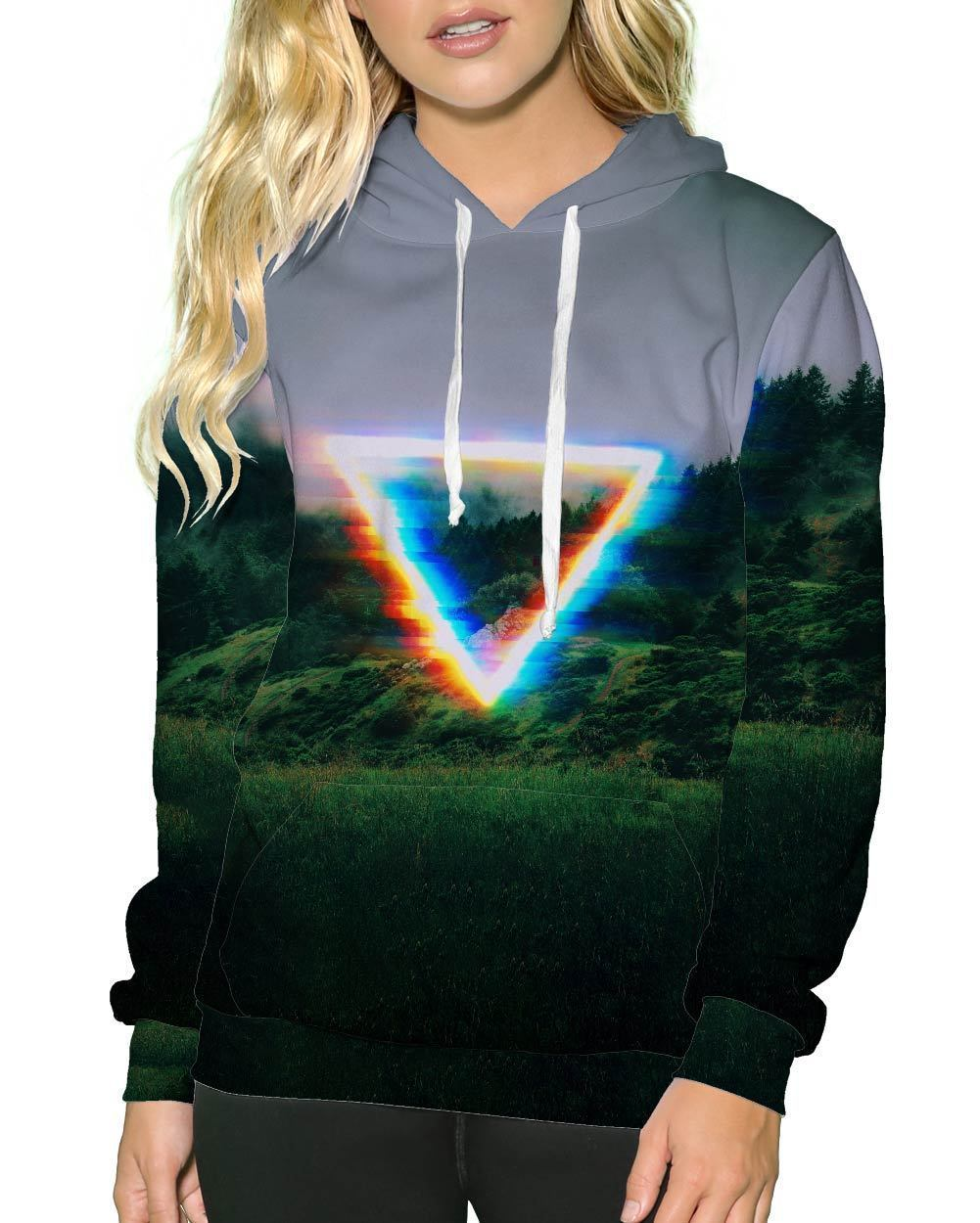 Analog Fields Pullover Hoodie-Female-Front