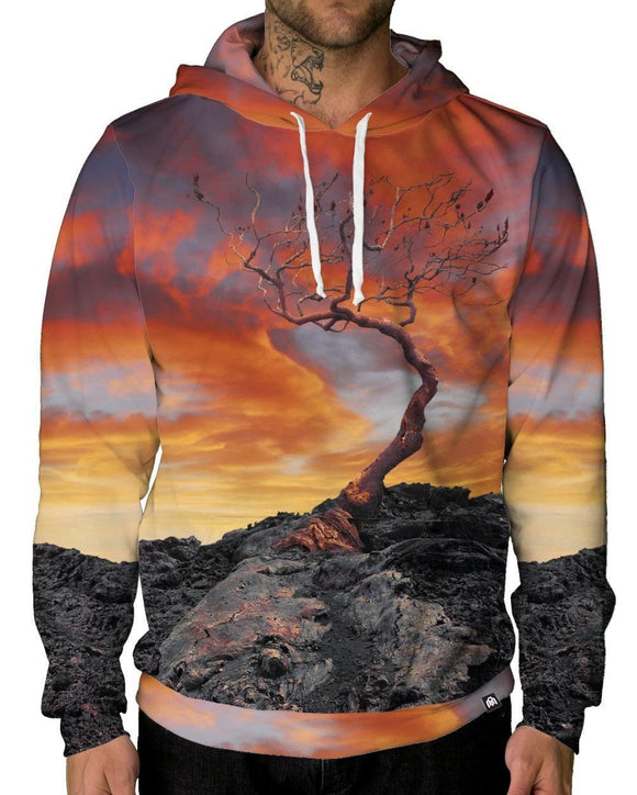 Ancient Root Unisex Hoodie-men's front