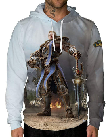 Anduin Pullover Hoodie-Male-Front