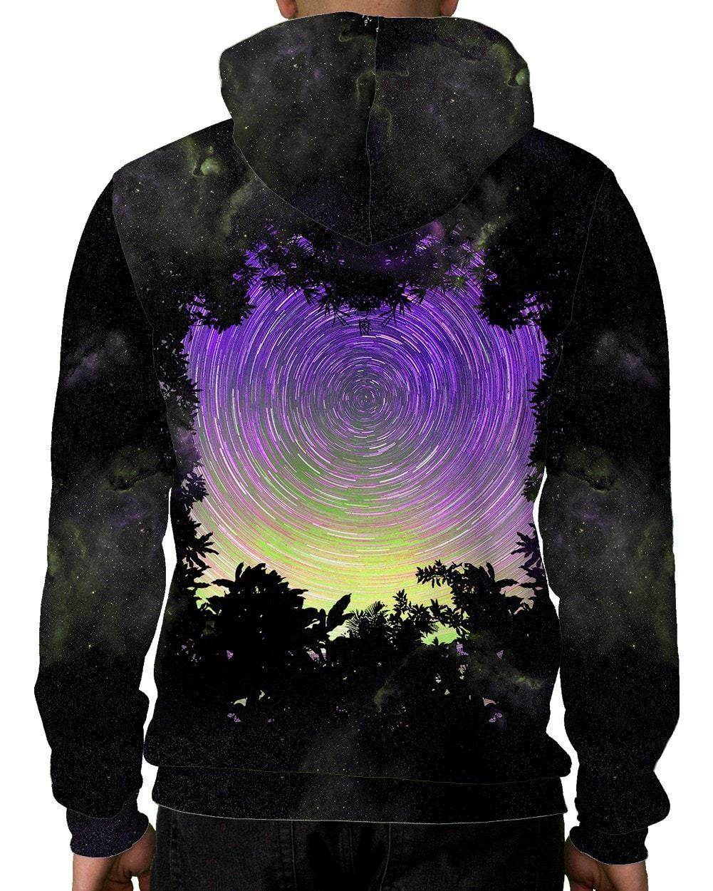 Astro Spiral Unisex Hoodie-male back