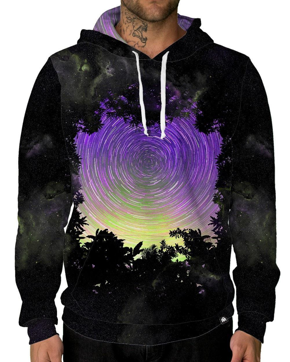 Astro Spiral Unisex Hoodie-male front