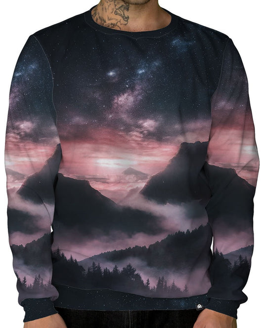 At Dusk Crewneck Sweatshirt-Male-Front