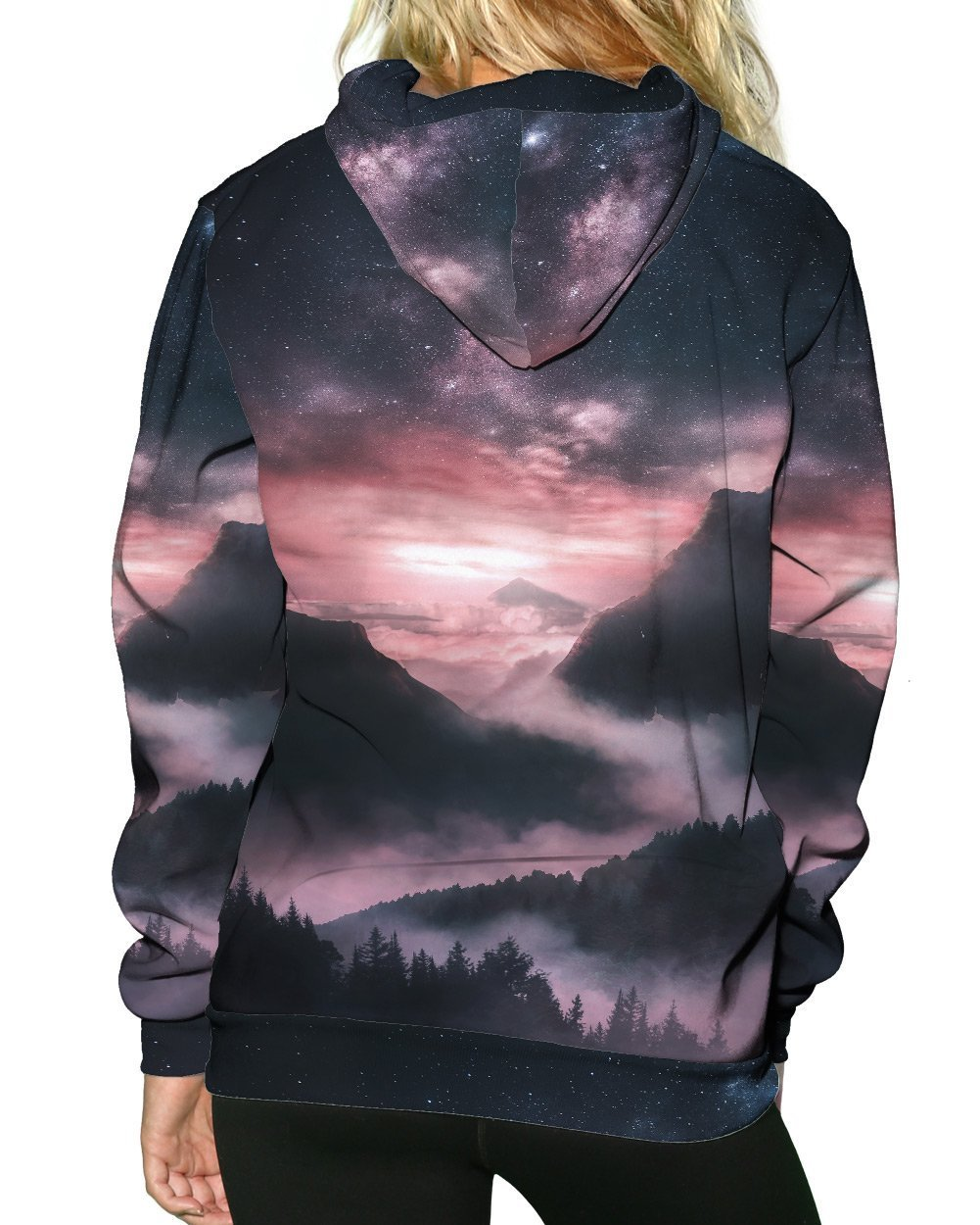 At Dusk Pullover Hoodie-Female-Back