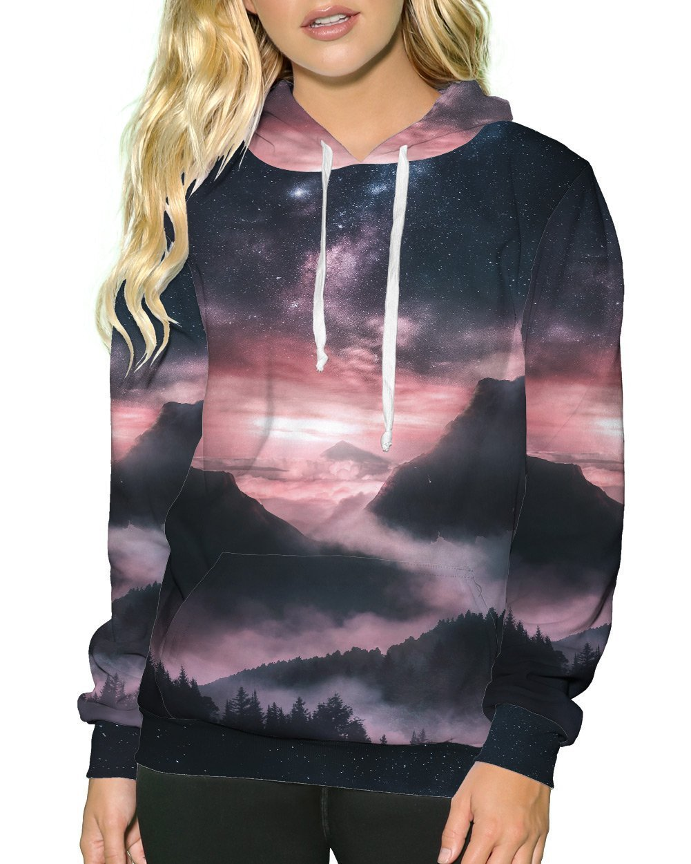 At Dusk Pullover Hoodie-Female-Front