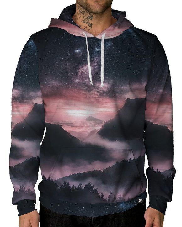 At Dusk Pullover Hoodie-Male-Front