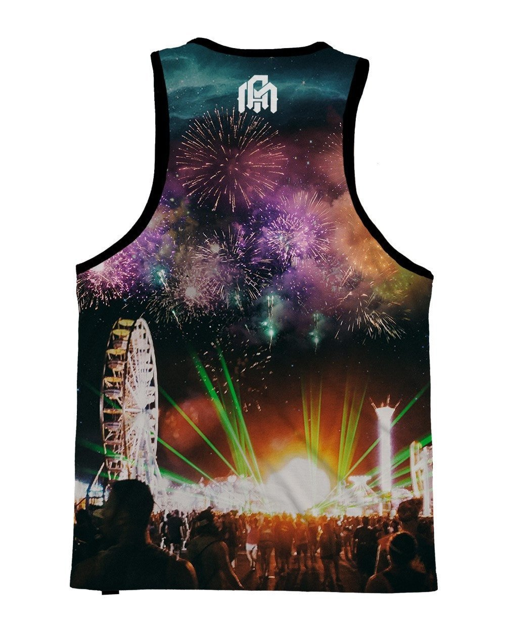 At Night We Come Alive Men's Tank Top