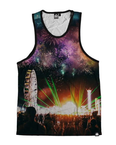 64a68f1d5f4708 At Night We Come Alive Men s Tank Top ...