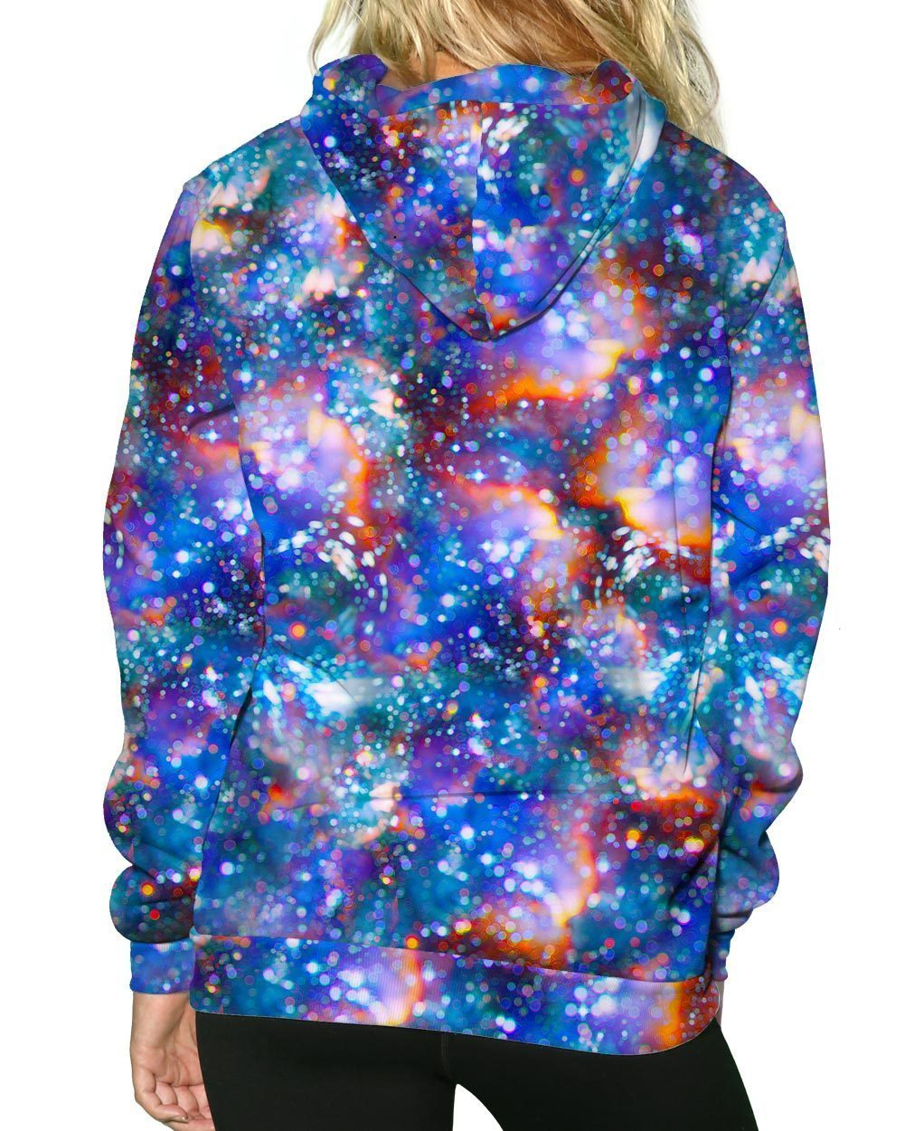 Atomic Haze Pullover Hoodie-Female-Back
