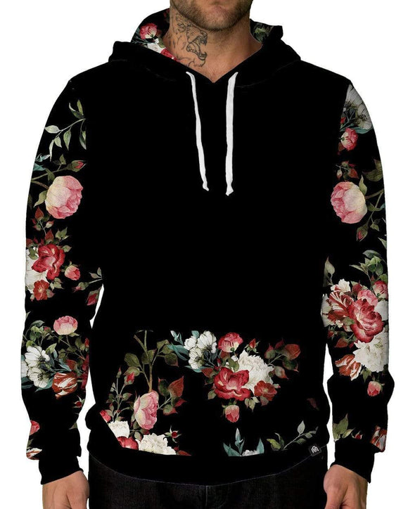 Bloom Pocket Pullover Hoodie-Male-Front