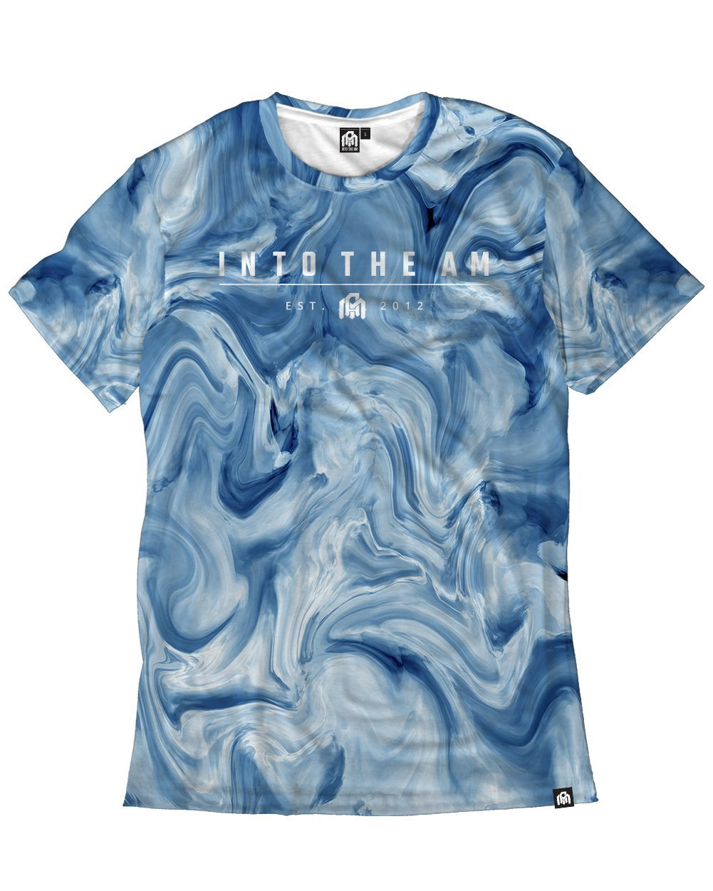 Blue Marble Men's Tee-Front
