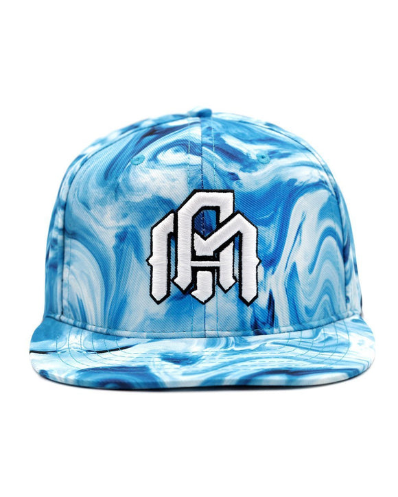 Blue Marble Snapback - Front