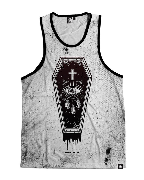 Buried Alive Men's Tank Top-Front
