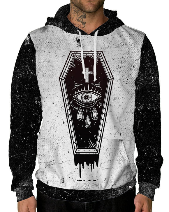 Buried Alive Pullover Hoodie-Front