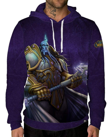 By The Light Pullover Hoodie-Male-Front