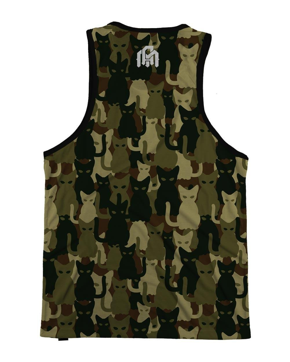 Camo Cats Men's Tank-back
