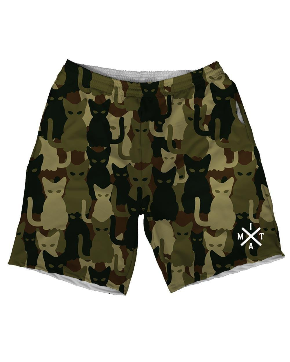Camo Cats Weekend Shorts-front
