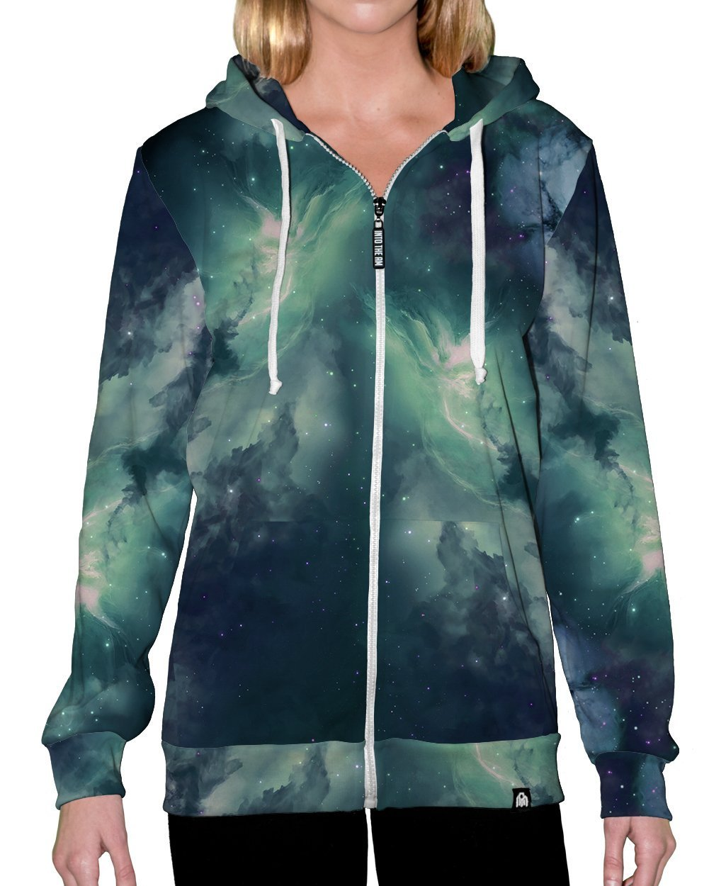 Cold Galaxy Zip-Up Hoodie