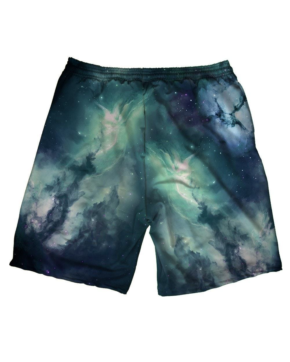Cold Galaxy Men's All Over Print Shorts with Premium Graphic Print