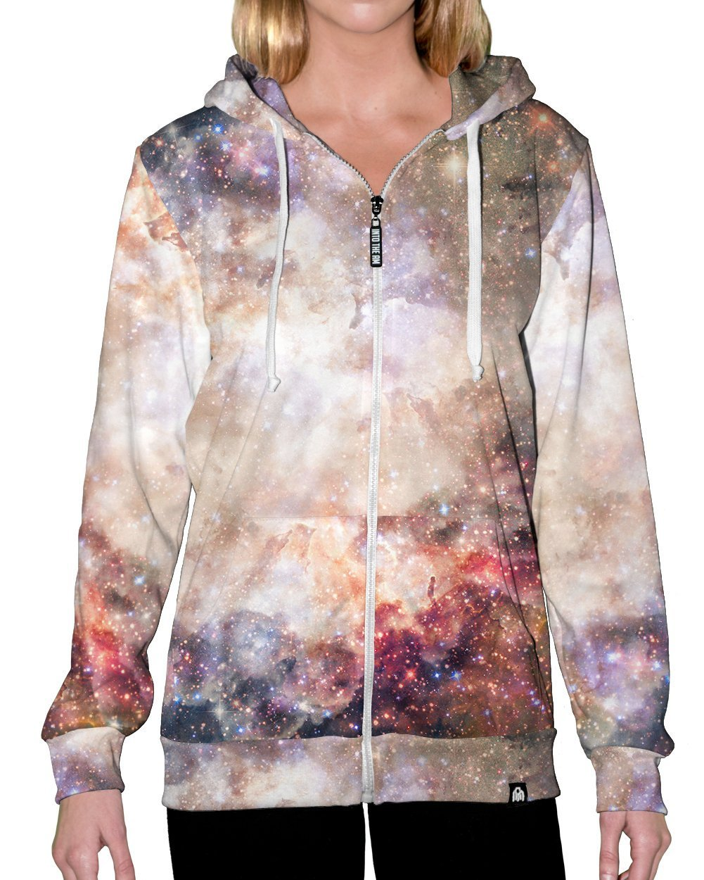 Cosmic Latte Zip-Up Hoodie