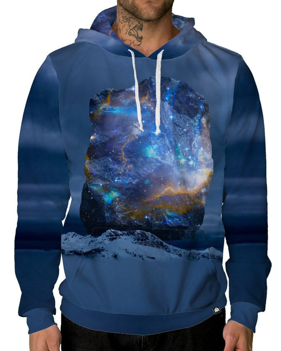 Cosmic Quartz Pullover Hoodie-Male-Front