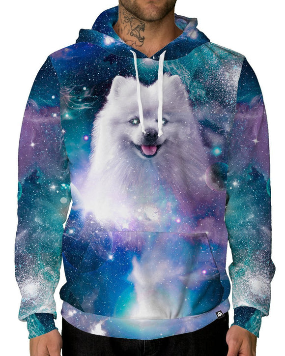 Cosmic Shiro Pullover Hoodie-Male-Front