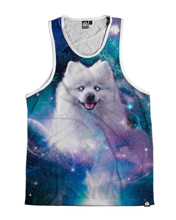 Cosmic Shiro Men's Tank Top-Front