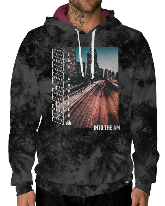 DTLA Pullover Hoodie-Male-Front