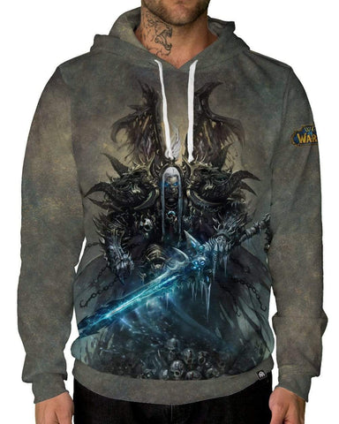 Deathbringer Pullover Hoodie-Male-Front