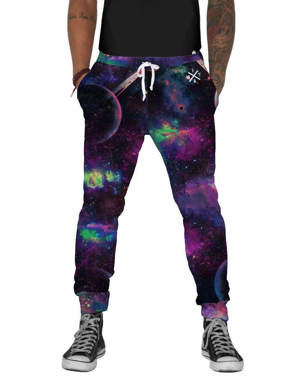 Deep Galaxy Joggers-front