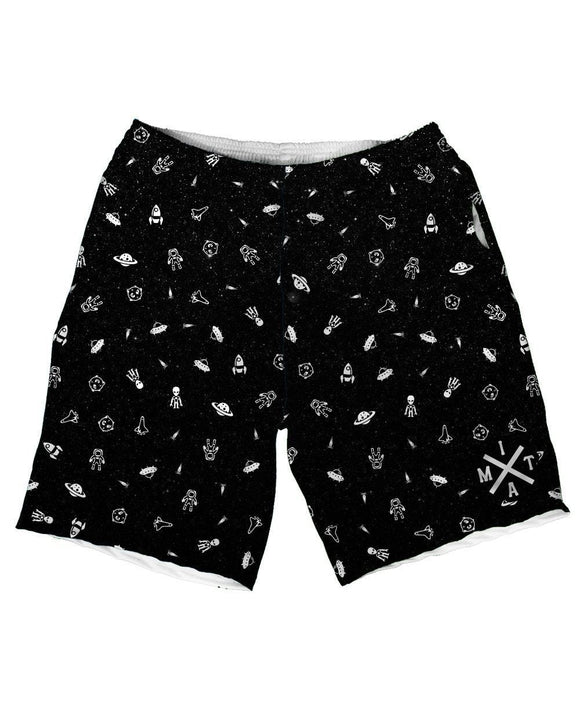 Drifting Spaceman Weekend Shorts-front