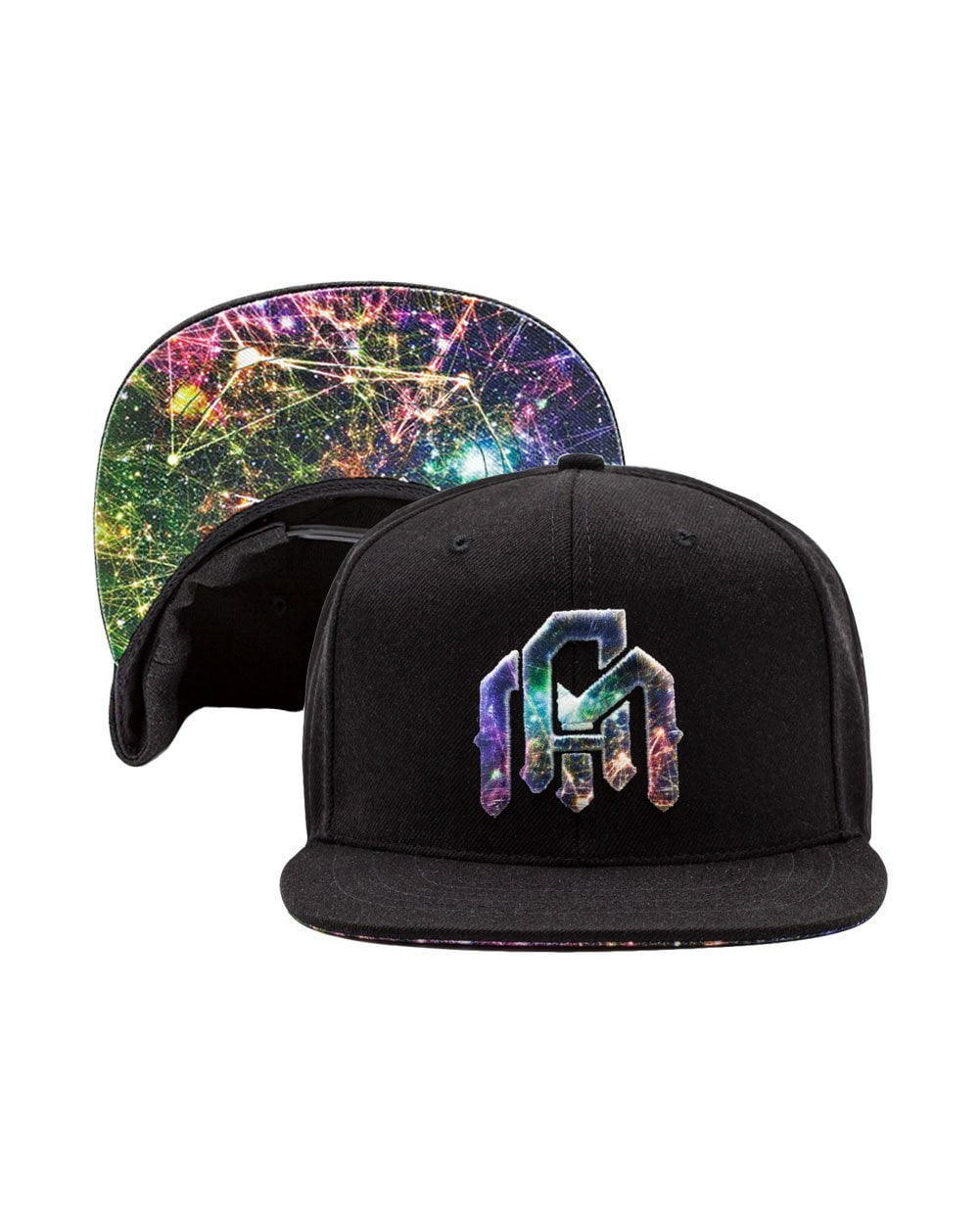 Electric Venation Snapback-Flipped
