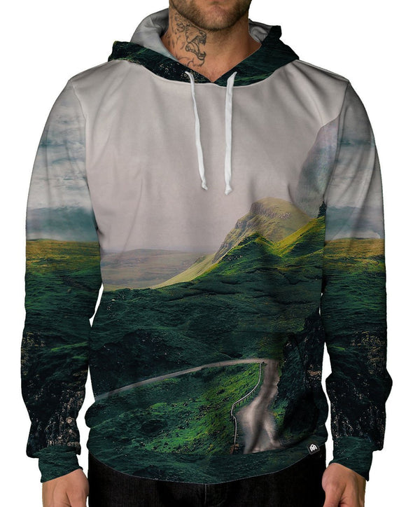 Emerald Slopes Pullover Hoodie-Male-Front
