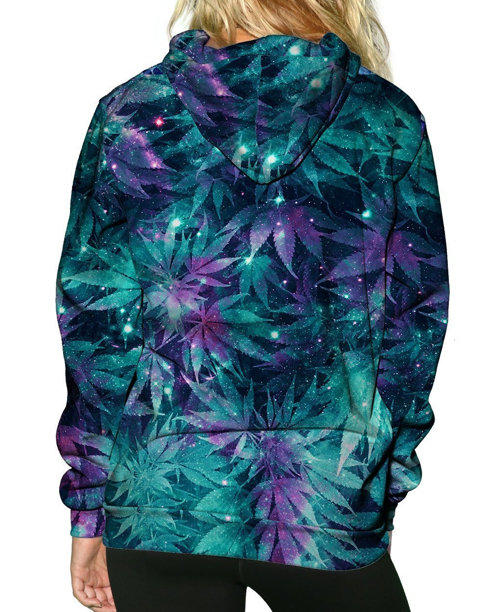 Ganja Galaxy Zip-Up Hoodie