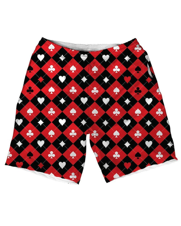 Classic Harley Quinn Weekend Shorts-front