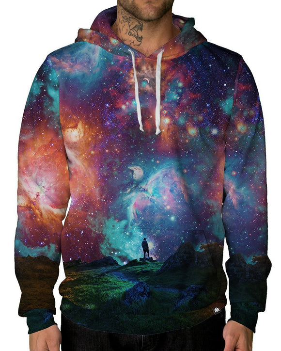Hypernova Pullover Hoodie-Male-Front