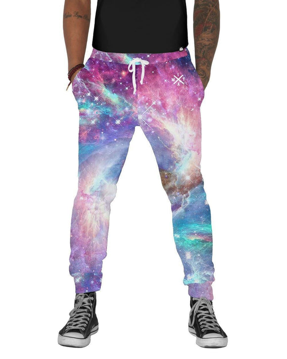 Iridescent Universe Joggers-front