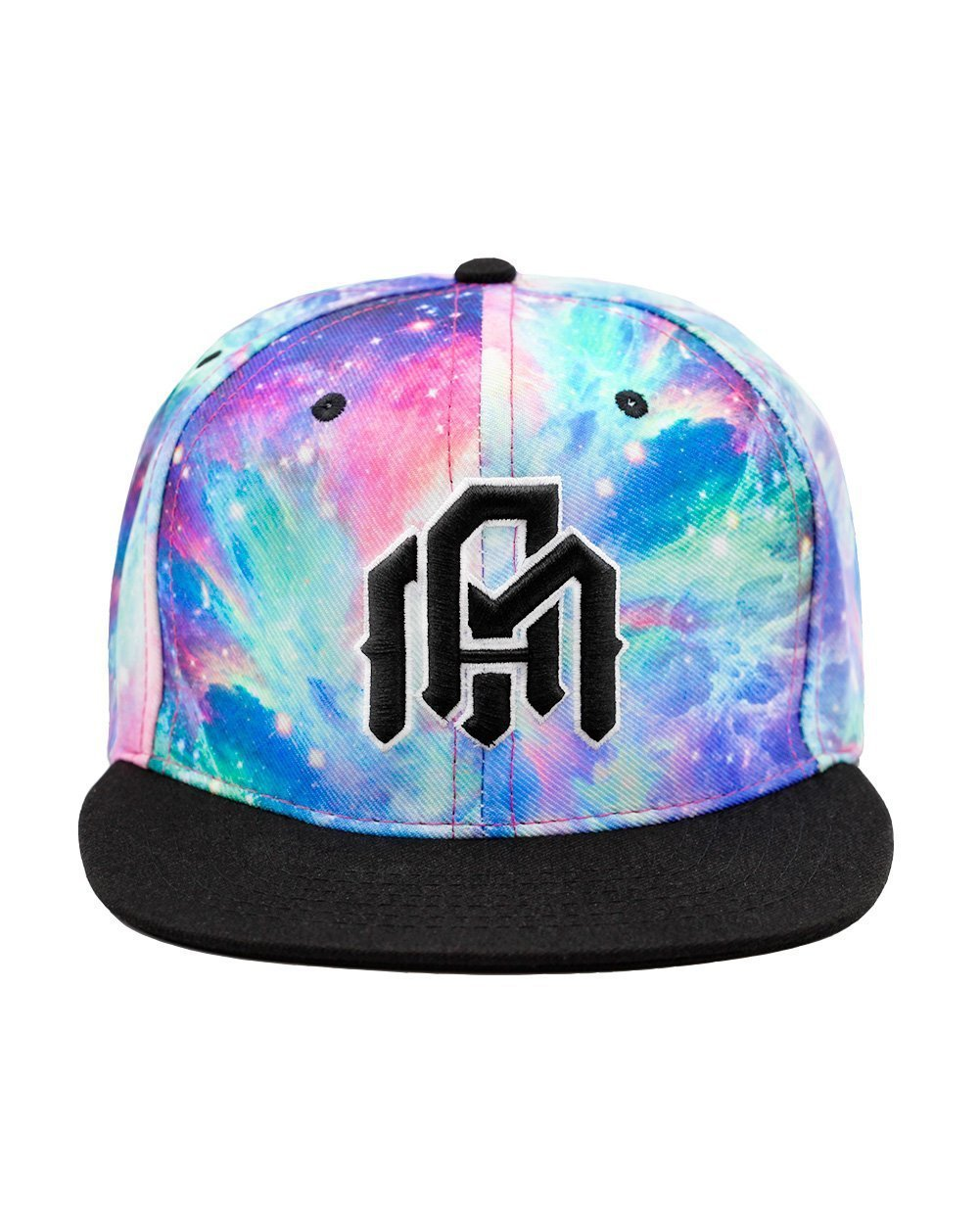 Iridescent Universe Snapback-Front