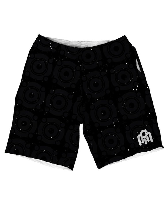 May the Bass Be With You Men's Athletic Shorts-Front