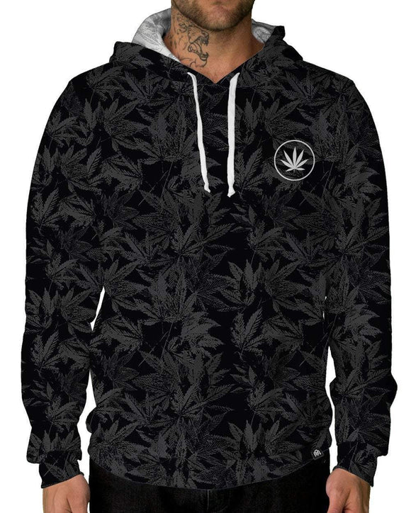 Midnight Remedy Pullover Hoodie-Male-Front