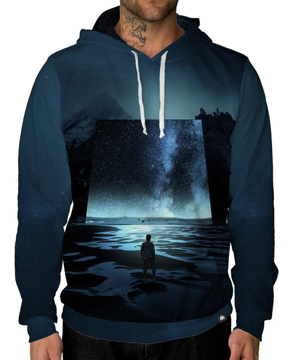 Mirror Dimension Pullover Hoodie-Male-Front
