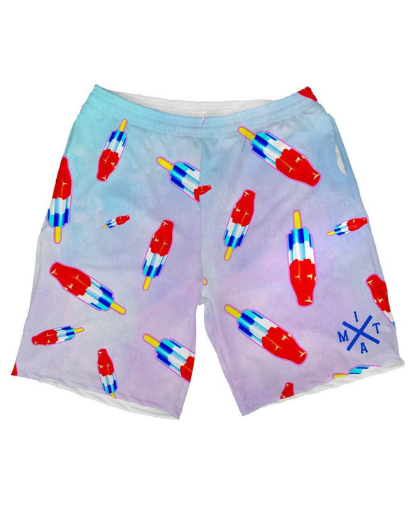 Missile Pop Weekend Shorts-front