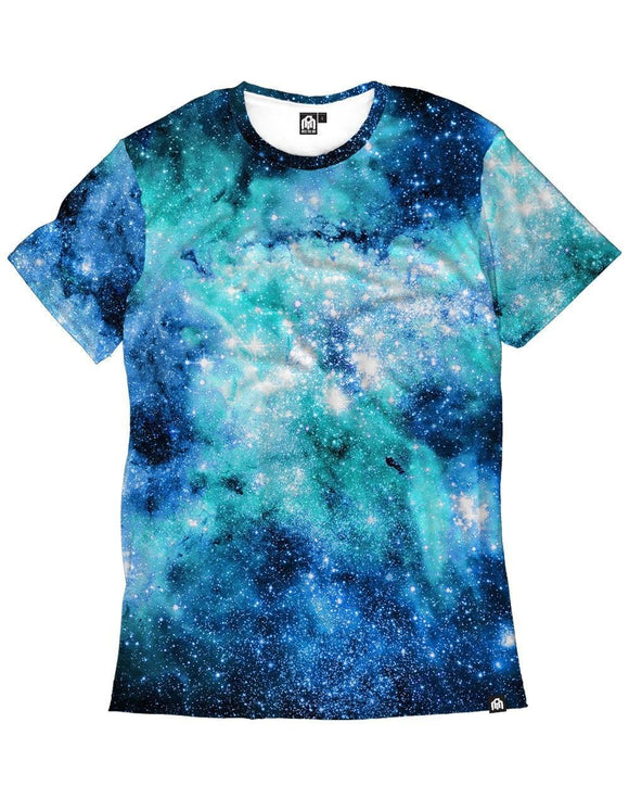 Nebula Skies Men's Tee-front