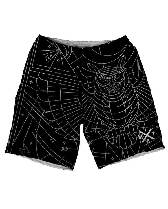 Nocturnal Nest Men's Athletic Shorts