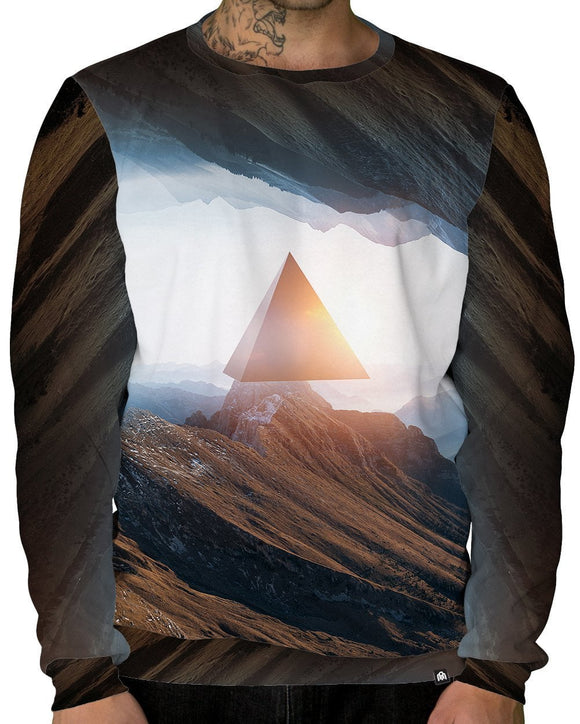 Outer Realm Crewneck Sweatshirt-Male-Front