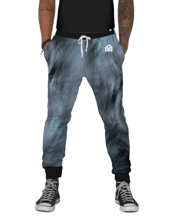 Painted Smile Joggers-Front