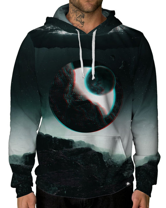 Quantum Eclipse Pullover Hoodie-Male-Front