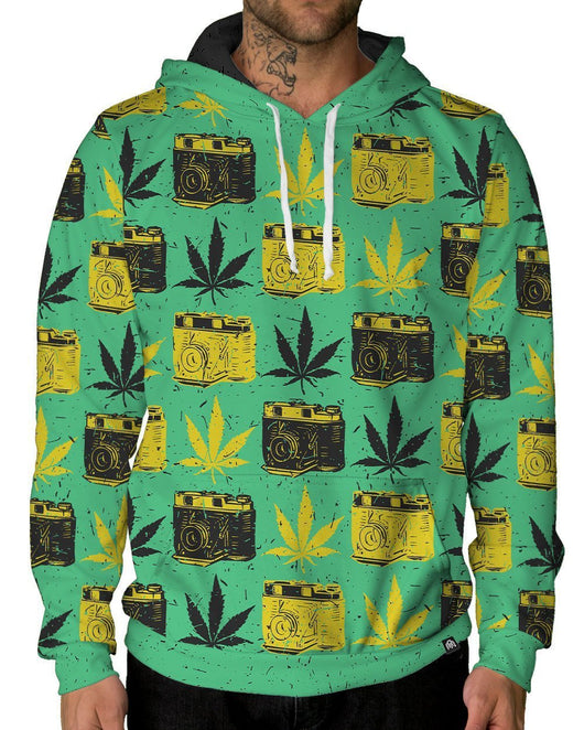 Raw OG Pullover Hoodie-Male-Front