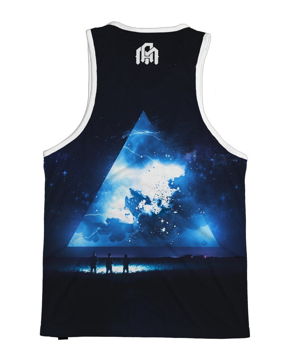 Space Rapture Men's Tank Top-Back