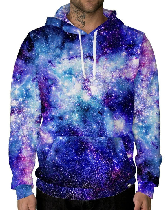 Stardust Unisex Hoodie-male front